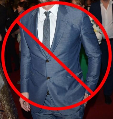 Lỗi phối đồ nam giới thường gặp: cài nút cuối của vest