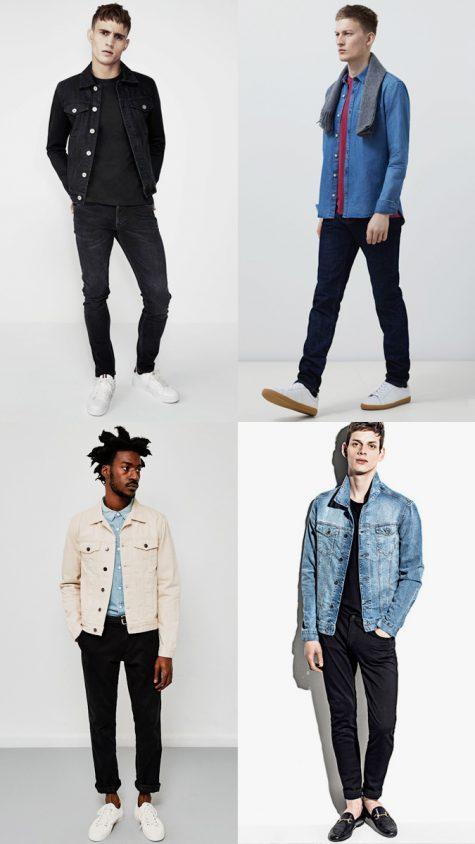 xu hướng thời trang denim