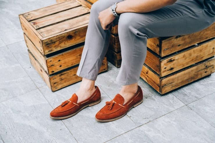 Giày vải nam đẹp và các mix đồ