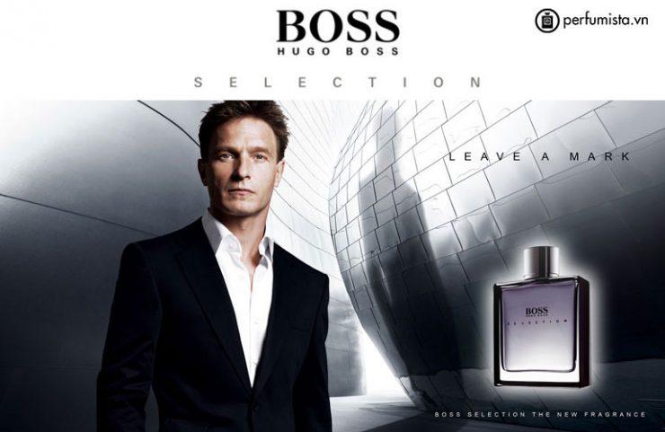 Hugo Boss Selection - nước hoa nam được giới văn phòng yêu thích